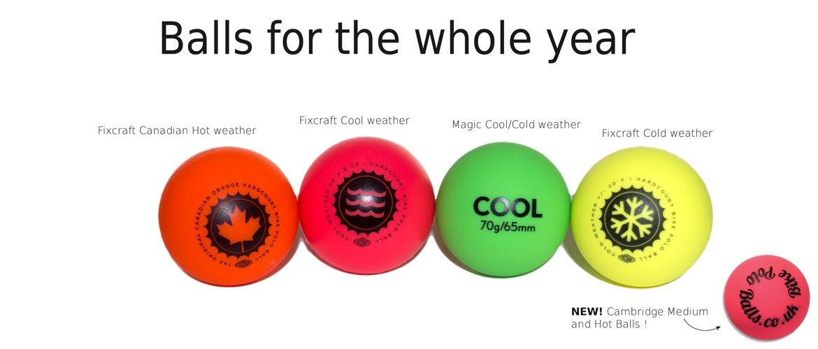 Balls for the whole year